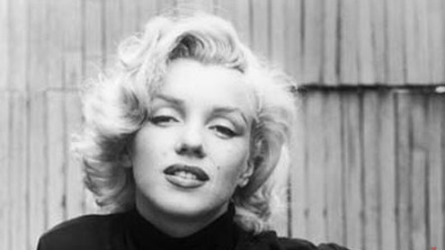 Many faces of Marilyn Monroe