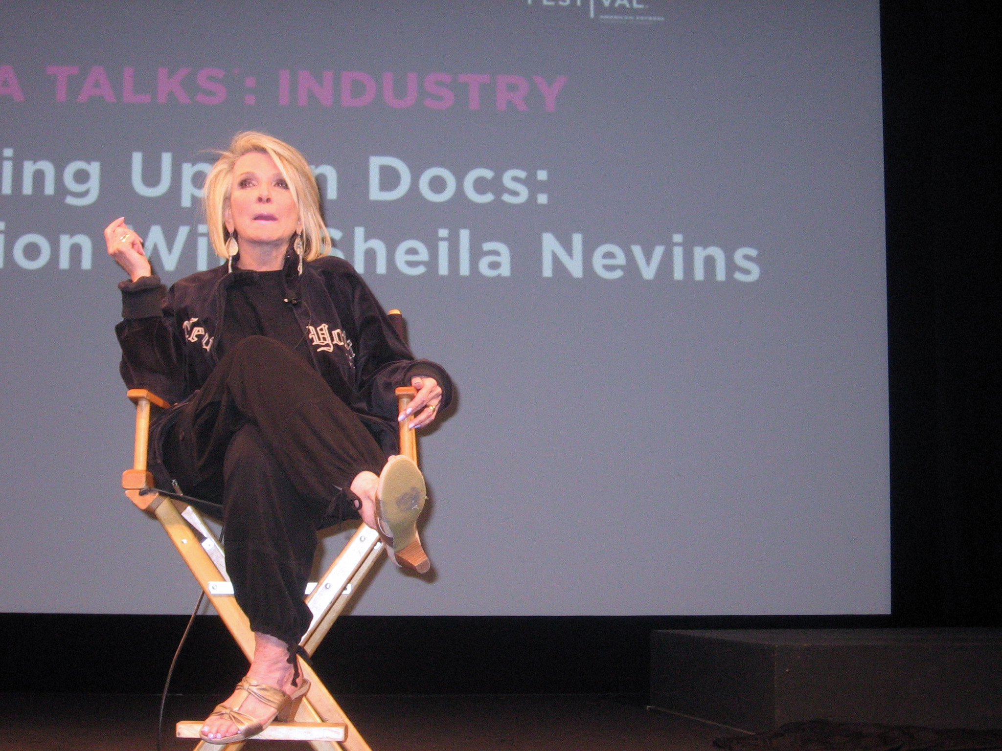 Dominatrix of Docs: Shelia Nevins at Tribeca