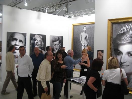 James Dean hits Elvis at Gallery