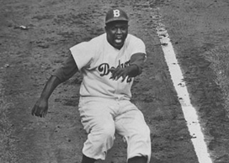 Baseball Fans Celebrate Jackie Robinson NO. 42, April 15th